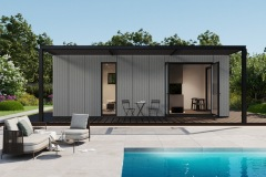 Vivlux Poolhouse met overkapping