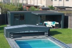 Hermes Poolhouse met zwembad overkapping